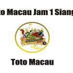 Toto Macau Jam 1 Siang